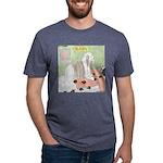Shih Tzu Shiitake Shiatsu Mens Tri-blend T-Shirt
