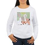 Shih Tzu Shiitake Shia Women's Long Sleeve T-Shirt