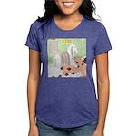Shih Tzu Shiitake Shiatsu Womens Tri-blend T-Shirt