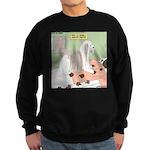 Shih Tzu Shiitake Shiatsu Sweatshirt (dark)