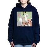 Shih Tzu Shiitake Shiats Women's Hooded Sweatshirt