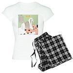 Shih Tzu Shiitake Shiatsu Women's Light Pajamas