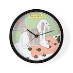 Shih Tzu Shiitake Shiatsu Wall Clock