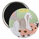 Shih Tzu Shiitake Shiatsu Magnet