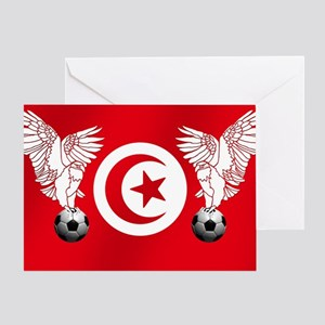 Tunisian Football Greeting Cards