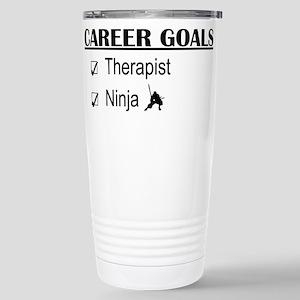 Therapist Career Goals Stainless Steel Travel Mug