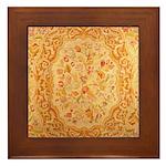 English Needlework Framed Tile