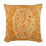 English Needlework Woven Throw Pillow