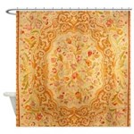 English Needlework Shower Curtain