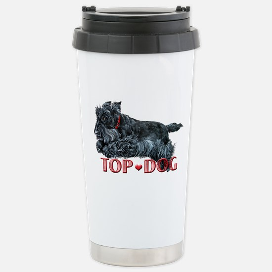 Top Dog Scottish Terrier Stainless Steel Travel Mu