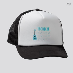 Ukulele Chords Kids Trucker hat