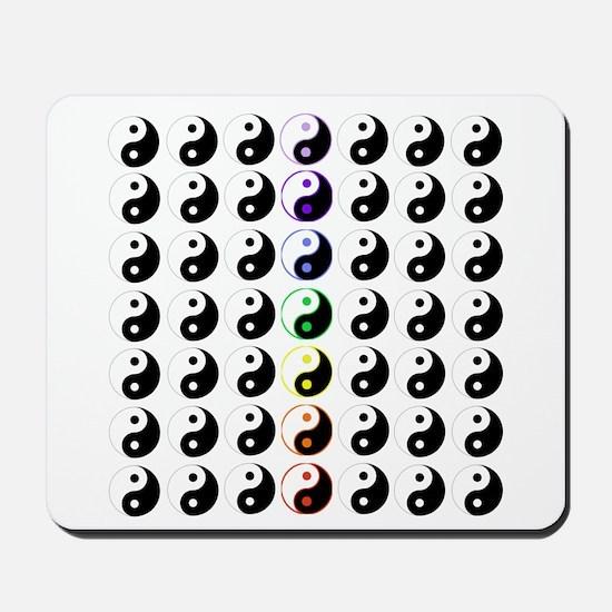 Yin Yang Taijitu Mousepad