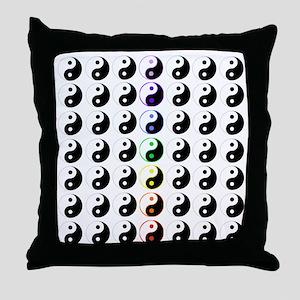 Yin Yang Taijitu Throw Pillow