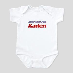 Just Call Me Kaden Infant Bodysuit