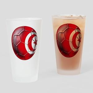 Tunisian Football Drinking Glass