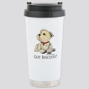 Got Biscuits? Stainless Steel Travel Mug