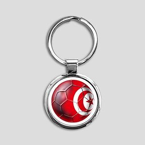 Tunisian Football Keychains