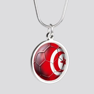 Tunisian Football Necklaces