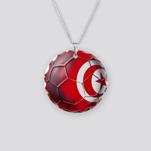 Tunisian Football Necklace
