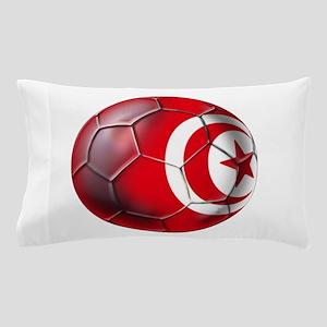 Tunisian Football Pillow Case