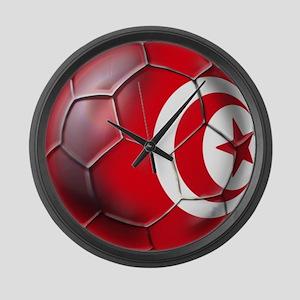 Tunisian Football Large Wall Clock