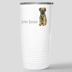 Border Terrier Stainless Steel Travel Mug