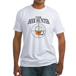 The Beer Hunter Fitted T-Shirt
