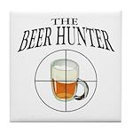 The Beer Hunter Tile Coaster