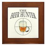The Beer Hunter Framed Tile