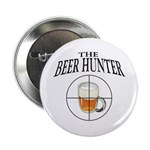 "The Beer Hunter 2.25"" Button"