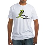 Stupid Earthlings Fitted T-Shirt