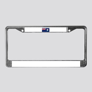 Anguilla Flag License Plate Frame