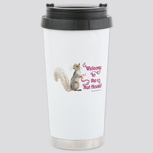Squirrel Nut House Stainless Steel Travel Mug