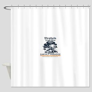 Virginia - Ocean View Shower Curtain