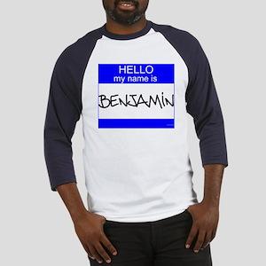 """Benjamin"" Baseball Jersey"