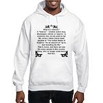 What is a Veteran? Hooded Sweatshirt