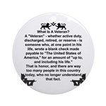 What is a Veteran? Ornament (Round)