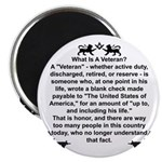 What is a Veteran? Magnet