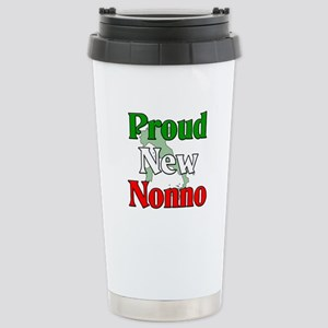 Proud New Nonno Stainless Steel Travel Mug