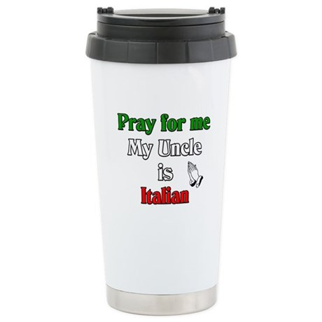 Pray for me my uncle is Itali Stainless Steel Trav