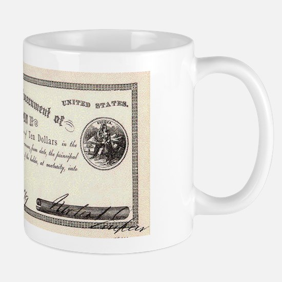 Emperor Norton Ten Dollar Bill Mug
