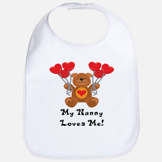 My Nanny Loves Me! Bib