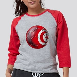 Tunisian Football Womens Baseball Tee
