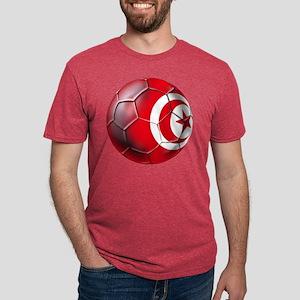 Tunisian Football Mens Tri-blend T-Shirt