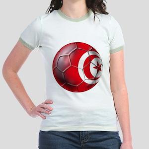 Tunisian Football Jr. Ringer T-Shirt