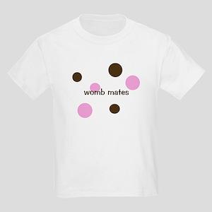 Womb Mates- for twin girls Kids T-Shirt