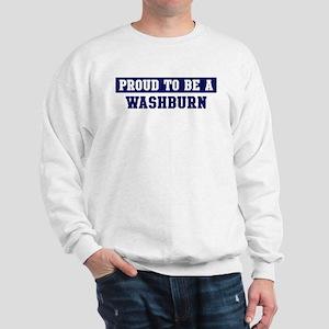 Proud to be Washer Sweatshirt