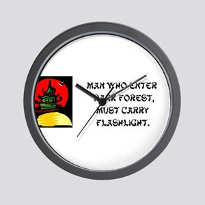 Chinese Proverbs - 10 Sayings in all! Wall Clock