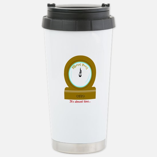 Molly's Clock Stainless Steel Travel Mug