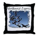 Northwest Express Throw Pillow